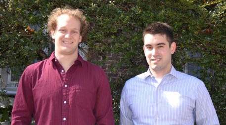 Dave (right) and Chris, founders of Oncora